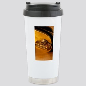 Bevel Square Stainless Steel Travel Mug