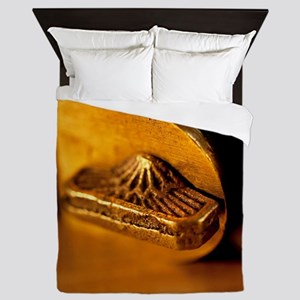 Bevel Square Queen Duvet