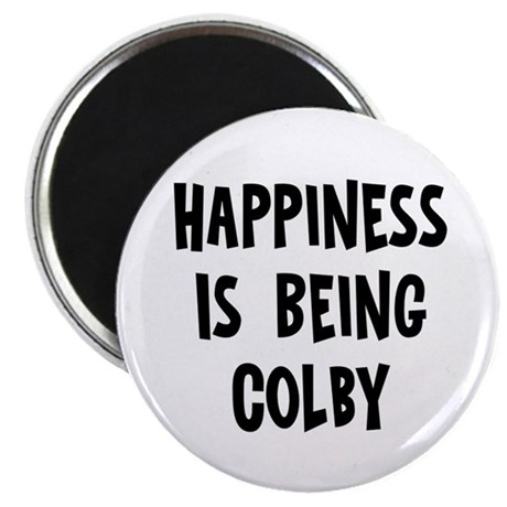 Happiness is being Colby Magnet