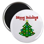 Happy Holidays Magnet