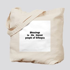 Blessings  to  the  Hamer peo Tote Bag