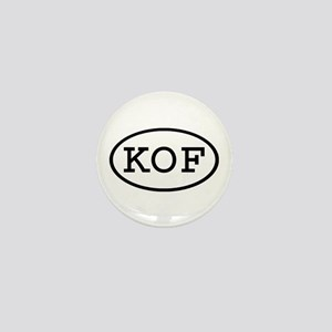 KOF Oval Mini Button