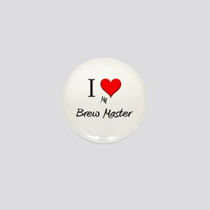 I Love My Bounty Hunter Mini Button