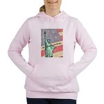 God Bless The United States Women's Hooded Sweatsh