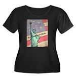 God Bless The United States Plus Size T-Shirt