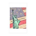 God Bless The United States Sticker