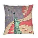God Bless The United States Everyday Pillow
