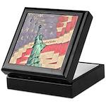 God Bless The United States Keepsake Box