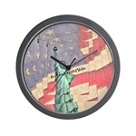 God Bless The United States Wall Clock