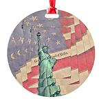 God Bless The United States Ornament