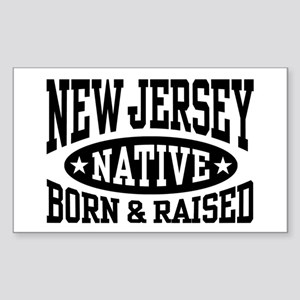 New Jersey Native Sticker (Rectangle)