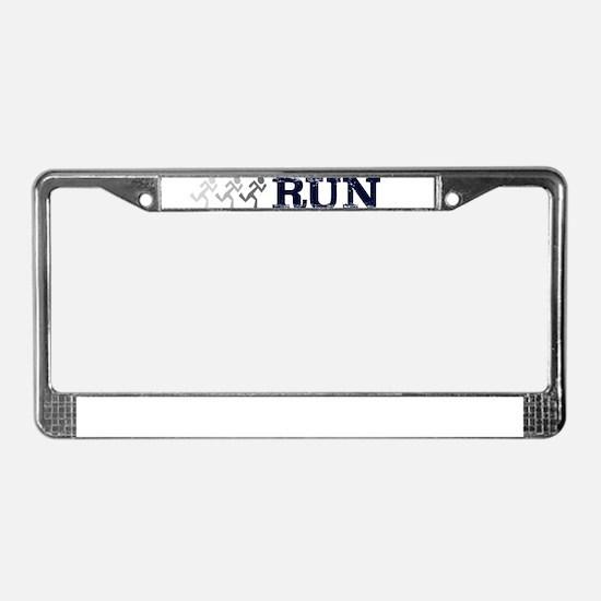 run dont walk License Plate Frame