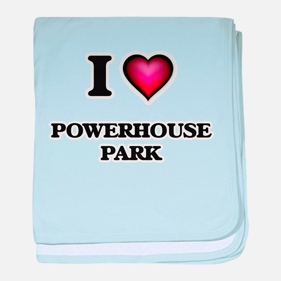 I love Powerhouse Park California baby blanket