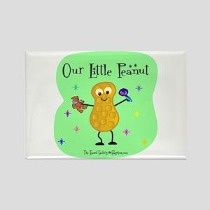Our Little Peanut Rectangle Magnet