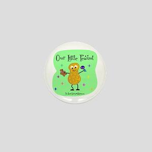 Our Little Peanut Mini Button