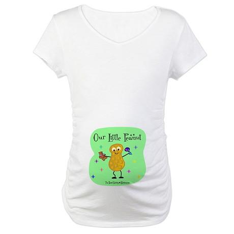 Our Little Peanut Maternity T-Shirt