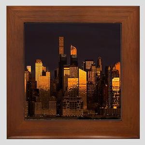 Midtown NYC Framed Tile