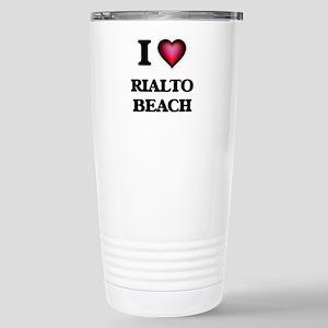 I love Rialto Beach Was Stainless Steel Travel Mug
