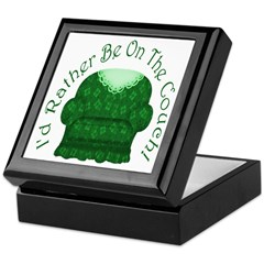 I'd Rather Be On The Couch! Keepsake Box