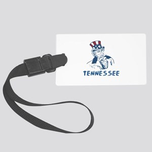Tennessee State Designs Large Luggage Tag