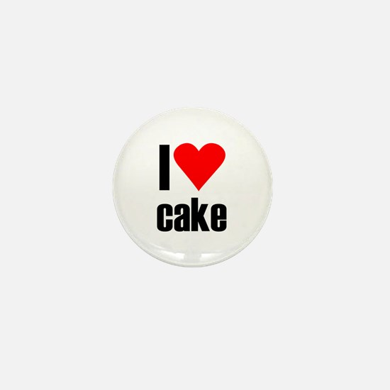 I love cake Mini Button
