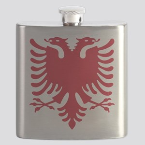 Albanian Eagle Red 56in Flask