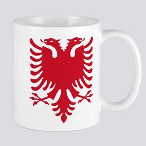 Albanian Eagle Red 56in Mugs
