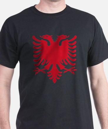 Albanian Eagle Red 56in T-Shirt