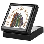 I'd Rather Be Reading! Keepsake Box