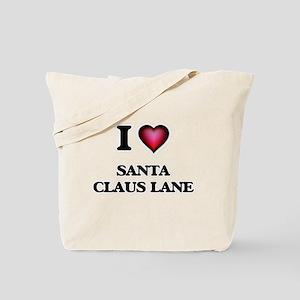 I love Santa Claus Lane California Tote Bag