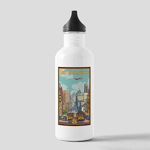 San Francisco, CA - California Street Water Bottle