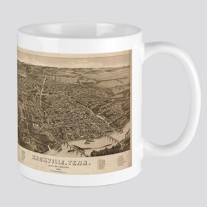 Knoxville, Tennessee - (1886) - Panoramic Map Mugs