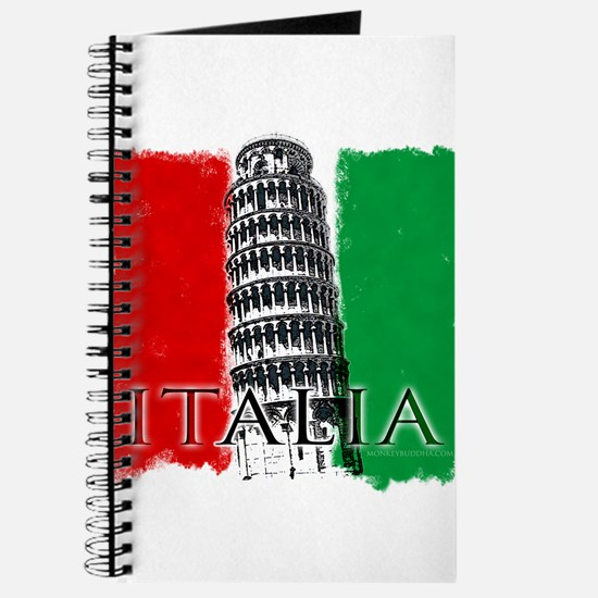 Pisa Italian Flag Journal