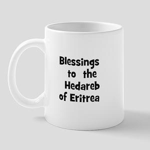 Blessings  to  the  Hedareb o Mug