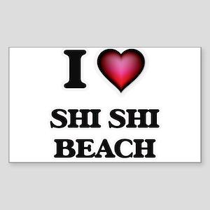 I love Shi Shi Beach Washington Sticker