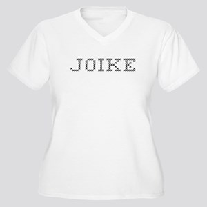 JOIKE Women's Plus Size V-Neck T-Shirt