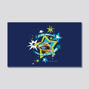 Ice Age Stars Full Bleed Car Magnet 20 x 12