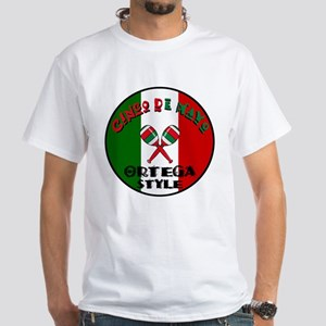 Ortega Cinco De Mayo White T-Shirt