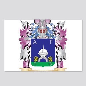 Fuentes Coat of Arms (Fam Postcards (Package of 8)