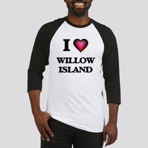 I love Willow Island Washington Baseball Jersey