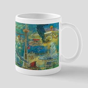 Seattle, WA - Space Needle World's Fair Mugs