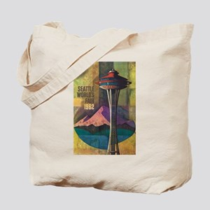 Seattle, WA - Space Needle World's Fair Tote Bag