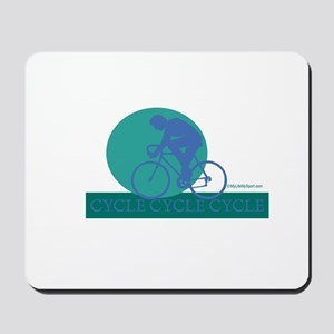 CYCLE CYCLE CYCLE Mousepad