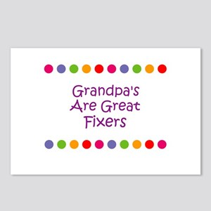 Grandpa's Are Great Fixers Postcards (Package of 8