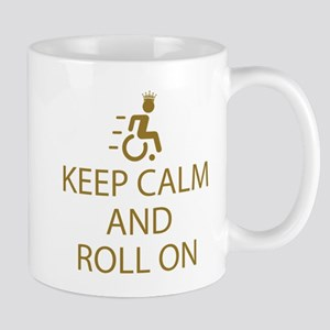 Keep Calm and Roll On Mug