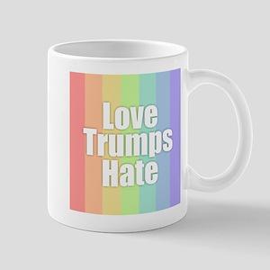 Love Trumps Hate - Rainbow Mugs