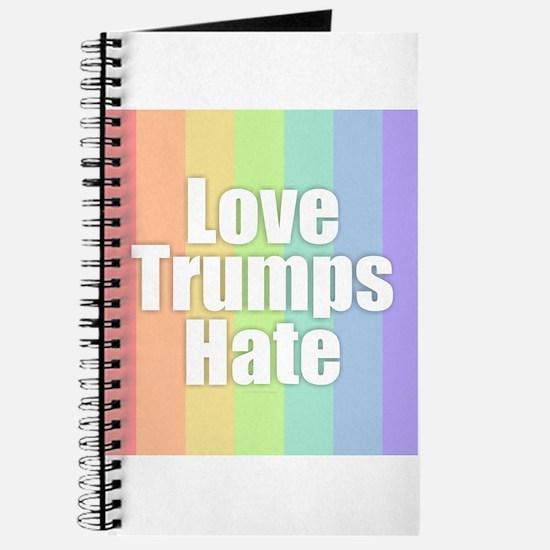 Love Trumps Hate - Rainbow Journal