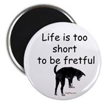 Life Is Too Short Magnet