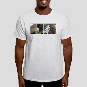 Animals Of the Philadelphia Zoo Light T-Shirt