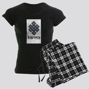 Endless Knot - Karma Women's Dark Pajamas